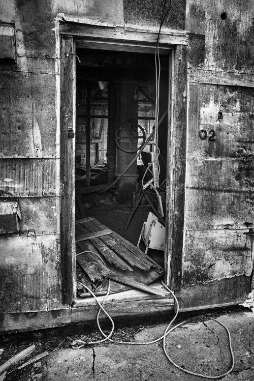 Abandoned Silo No. 2 - On White