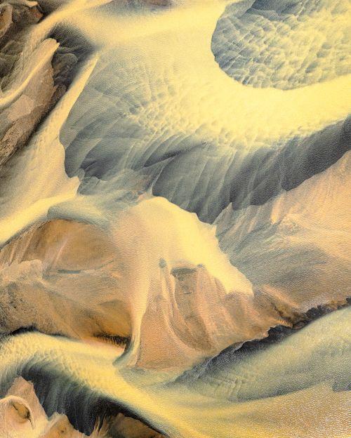 Iceland Aerial: Bellflower - On White