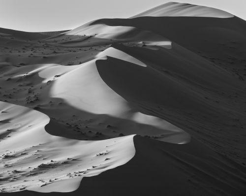 Deadvlei Dunes - On White
