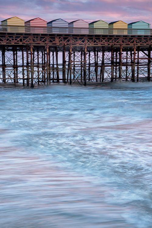 Hastings Pier Colors - On White