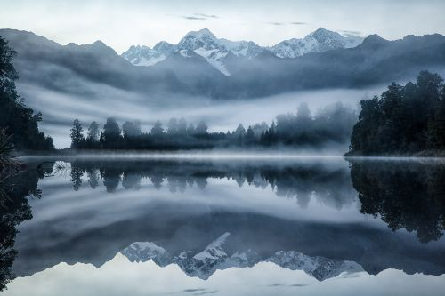 Dawn Reflections - On White