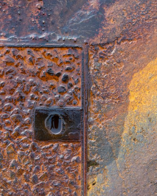 Rusty Texture - On White