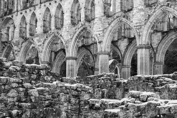 Rievaulx Abbey Winter